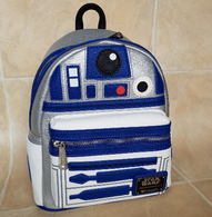Loungefly X Star Wars R2D2 Cosplay Mini Backpack - Cobalt Heights