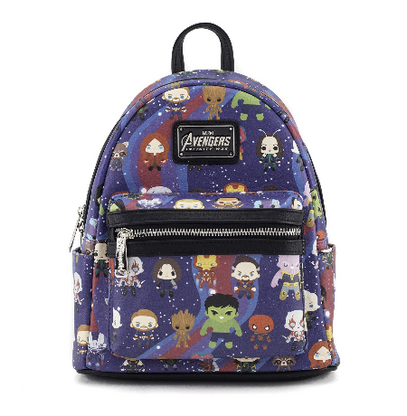 Loungefly X Marvel Avengers Infinity War Mini Backpack - Cobalt Heights