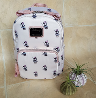 Loungefly X Disney Minnie Mouse Pastel Mini Backpack - Cobalt Heights
