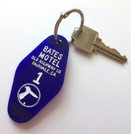 Hungry Designs Bates Motel Keyring - Cobalt Heights