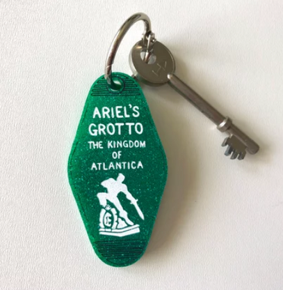 Hungry Designs Ariel's Grotto Keyring - Cobalt Heights