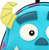 Loungefly X Pixar Sully Mini Backpack - Close Up - Cobalt Heights