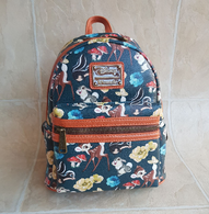 Loungefly X Disney Bambi Floral Mini Backpack - Cobalt Heights