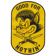 Sourpuss Good For Nothin Oversized Patch - Cobalt Heights