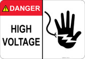 Danger High Voltage - #53-315 thru 70-315