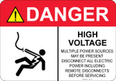 Danger Shocked Man, High Voltage #53-318 thru 70-318