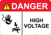 Danger Shocked Hand, Shocked Man, High Voltage #53-319 thru 70-319