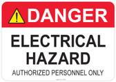 Danger Electrical Hazard #53-332 thru 70-332