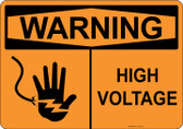 Warning High Voltage, #53-511 thru 70-511