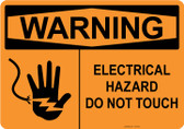 Warning Electrical Hazard, #53-533 thru 70-533