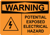 Warning Electrical Hazard, #53-534 thru 70-534