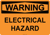 Warning Electrical Hazard, #53-535 thru 70-535