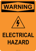 Warning Electrical Hazard, #53-537 thru 70-537