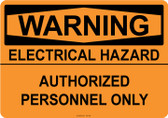Warning Electrical Hazard, #53-538 thru 70-538
