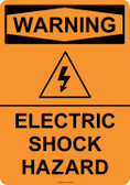 Warning Electric Shock Hazard, #53-544 thru 70-544