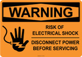 Warning Electrical Shock, #53-545 thru 70-545