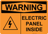 Warning Electric Panel Inside, #53-546 thru 70-546