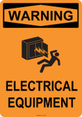 Warning Electrical Equipment, #53-551 thru 70-551