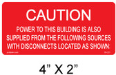 PV Labels - Solar Warning Label - #03-221