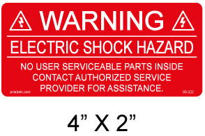 PV Labels - Solar Warning Label - #03-222