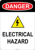 Danger Hazardous Voltage, #53-137 thru 70-137