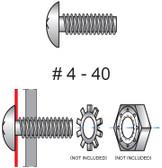 95-210 MACHINE SCREWS (10 PACK)