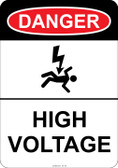 Danger (shocked man) High Voltage, #53-103 thru 70-103