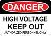 Danger High Voltage, #53-108 thru 70-108