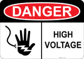 Danger High Voltage, #53-111 thru 70-111