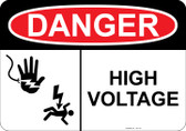 Danger Shocked Hand, Shocked Man, High Voltage  #53-119 thru 70-119