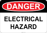 Danger - Electrical Hazard  #53-135 thru 70-135