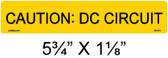 Caution: DC Circuit - Item #05-374