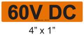 60V DC - PV Labels #30-016