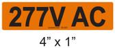 277V AC - PV Labels #30-228