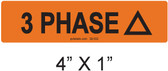 3 PHASE Delta - PV Labels #30-532