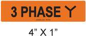 3 PHASE Y - PV Labels #30-534