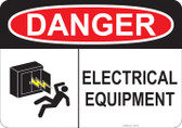 Danger Electric Equipment - #53-148 thru 70-148