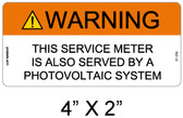 Warning Sign - .040 Aluminum - Item #07-359