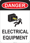 Danger Electrical Equipment, #53-151 thru 70-151