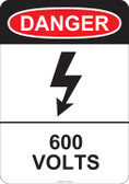 Danger 600 Volts, #53-220 thru 70-220