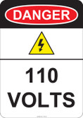 Danger 110 Volts, #53-221 thru 70-221