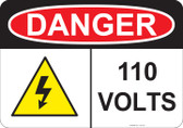 Danger 110 Volts - #53-231 thru 70-231