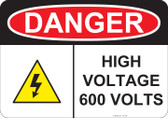 Danger High Voltage - #53-240 thru 70-240