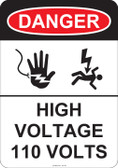 Danger High Voltage, #53-241 thru 70-241