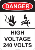 Danger High Voltage, #53-242 thru 70-242