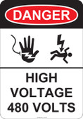 Danger High Voltage, #53-244 thru 70-244