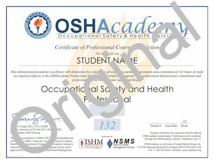7 program certificates + 7 program wallet cards + 25 certificates