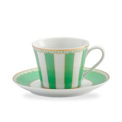 Carnivale Apple Green Cup & Saucer Set