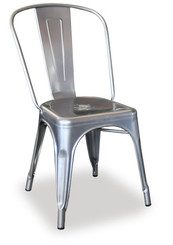 TOLIX CHAIR - SILVER
