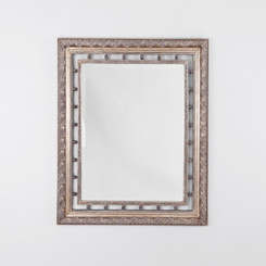 NEO CLASSICAL SILVER MIRROR  DIMENSIONS: 140X230(CM)  TRADITIONAL STYLE MIRROR WITH A DECORATIVE ORNATE SILVER FRAME.  AVAILABILITY: USUALLY SHIPS IN 2-4 WEEKS.